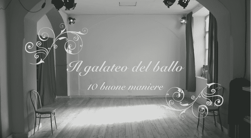Il Galateo del Ballo