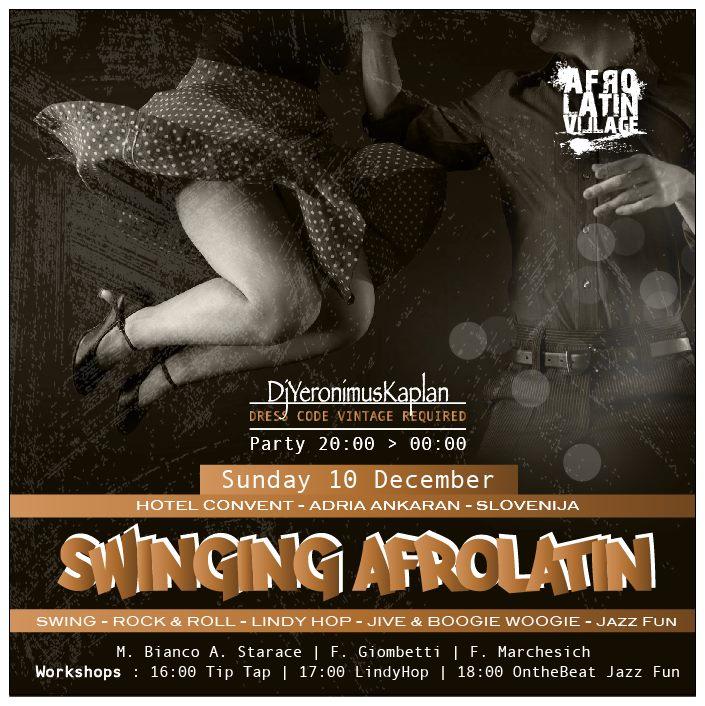 Evento Swing Slovenia Swing Fever