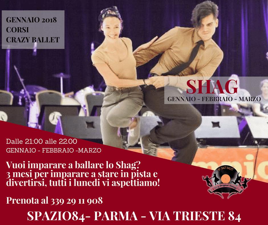 Evento Shag Parma