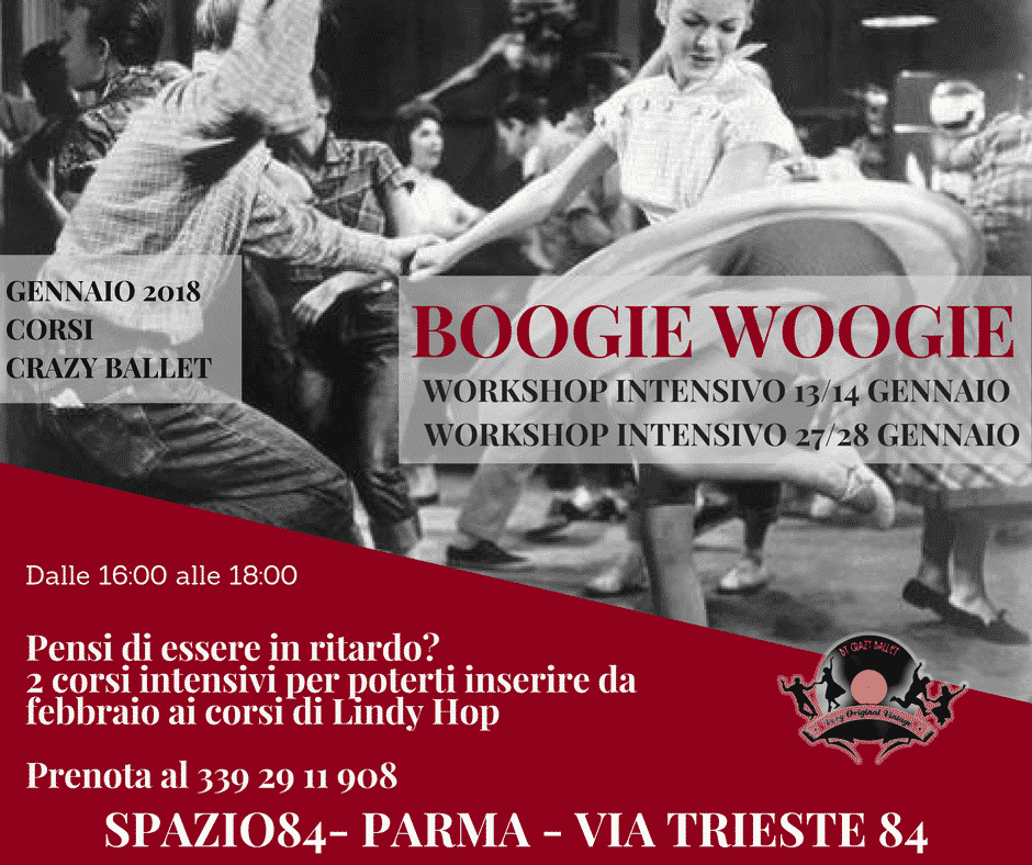 Evento boogie woogie Parma