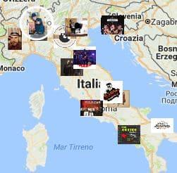 Mappa Artisti in Evidenza
