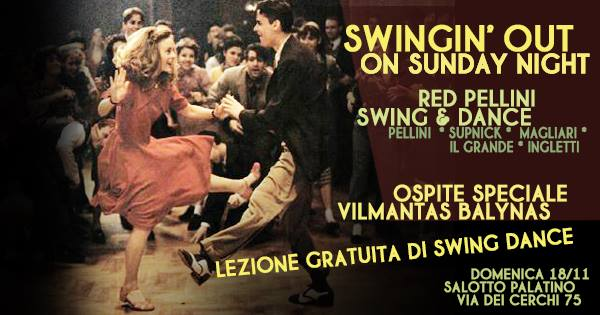 Swingin' Out On Sunday Night- Red Pellini Swing & Dance