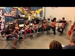 """VIDEO: """"Inno alla gioia"""" - """"Giochi Proibiti"""" (Romanza) //Orchestra di Chitarre dei piccoli"""