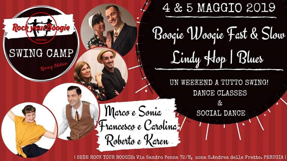 Swing Fever Media Partner di Rock Your Boogie Swing Camp