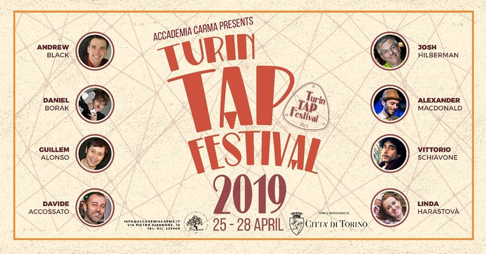 Swing Fever Media Partner di Turin Tap Festival