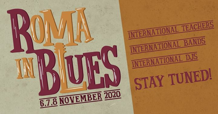 Roma in Blues – The Blues Dance Festival of the Eternal City!
