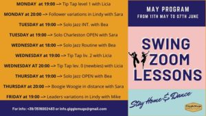 Swing Zoom Lessons - May