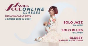 Online Classes - Giugno 2020 @ Swing Soul | Rome | Italy