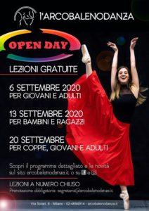 OPEN DAY: Prove aperte per piccoli e grandi! @ L'Arcobalenodanza | Milan | Italy
