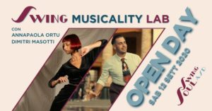 Swing Musicality Lab @ Royal Dance Project | Rome | Italy