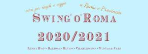 Corsi di Swing Dance: Lindy Hop Balboa Blues Jazz Charleston @ Swing'o'Roma Dancing School   Rome   Italy