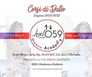Presentazione Corsi Swing 2020/21★ Sedi Rubiera e Modena