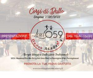 Presentazione corsi Boogie e Liscio  sedi di Modena e Formigine @ Polisportiva Formiginese ASD circolo ricreativo ARCI - UISP | Formigine | Italy