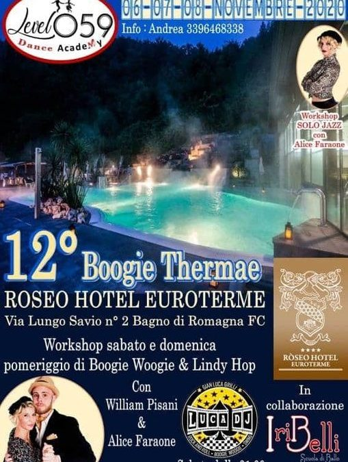 """12 """" boogie thermae"""""""