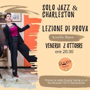 Solo jazz & Charleston- lezione Prova @ Sambuceto( san giovanni teatino) | San Giovanni Teatino | Italy