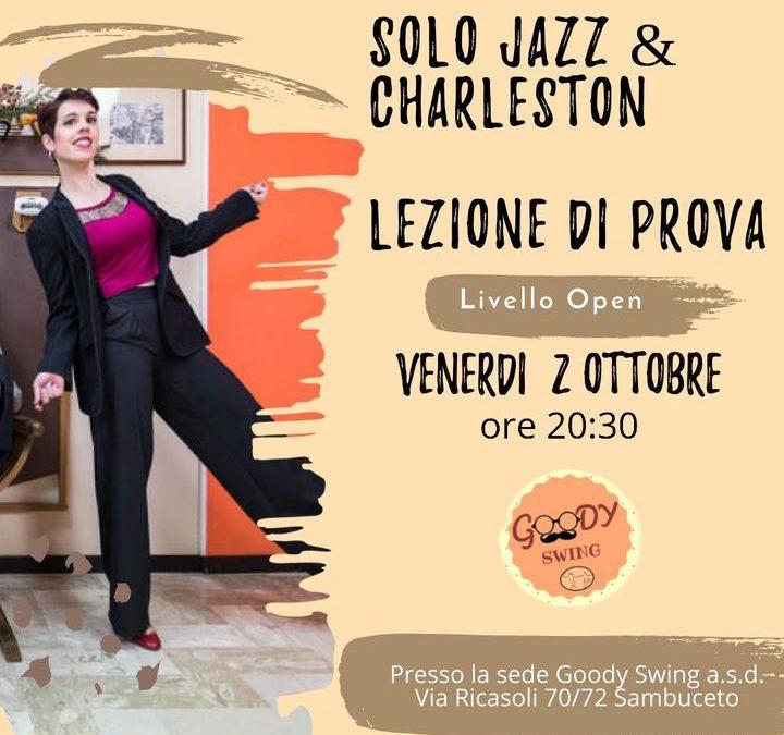 Solo jazz & Charleston- lezione Prova