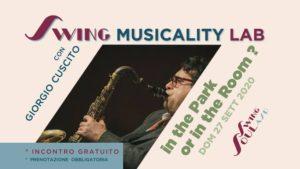 Swing Musicality Lab con Giorgio Cùscito
